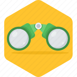 binoculars, explore, eyeglasses, find, glasses, swimming, view icon