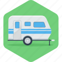 automobile, bus, car, parking, transportation, van, vanity icon