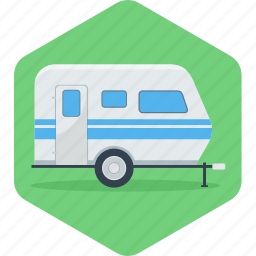 automobile, bus, car, parking, transportation, van, vanity icon