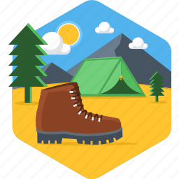 boot, boots, footwear, shoe, shoes, track, tracking icon