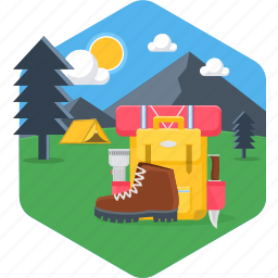 bag, baggage, camping, holiday, luggage, suitcase icon