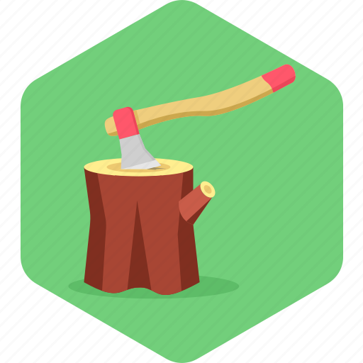 axe, cut, cutter, cutting, tools, wood, work icon
