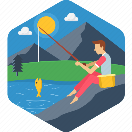 fish, fishing, ocean, river, sea, trap, trapping icon