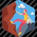 climb, climbing, mountain, adventure, adventurous, landscape, man