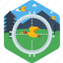 aim, archery, bird, shoot, shooting, target icon