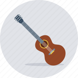 guitaar, guitar, instrument, music, musical, song icon