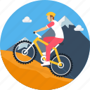 adventure, bicycle, camping, cycle, cycling, cyclist, outdoor icon