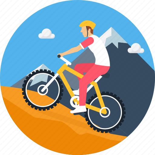 Cycle, cycling, adventure, bicycle, camping, cyclist, outdoor icon - Download on Iconfinder