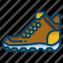 adventure, boot, equipment, hiker, hiking, shoes, trekking