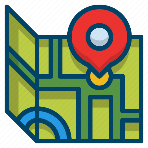 direction, journey, location, map, position, tourist, travel icon