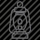 lamp, lantern, light, bulb, light bulb