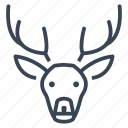 animal, deer, nature, wildlife icon