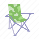 camping, chair, camp, folding, holiday, outdoor, picnic