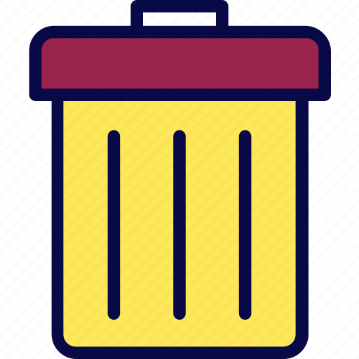 camping, garbage, recycle, scout, trash icon