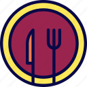 camping, cooking, dish, food, menu, scout icon