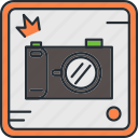 camera, camping, photography, travel icon