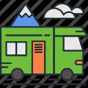 ban, camping, holiday, travel