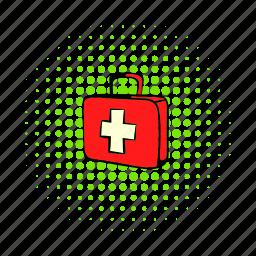 aid, box, case, comics, first, hospital, medicine icon