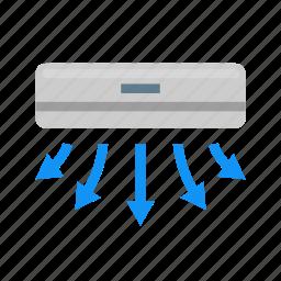 ac, air, conditioner, conditioning, eave, hood, ventilation icon