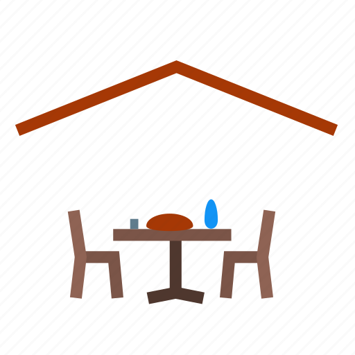camp, camping, chairs, dining, furniture, garden, tables icon