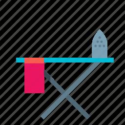 articles, board, flatiron, goods, hosehold, iron, ironing icon