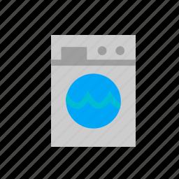 doing, laundring, laundromat, laundry, machine, wash, washing icon