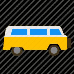 camper, caravan, recreational, rv, tourer, van, vehicle icon