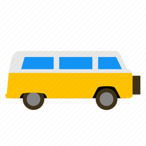 camper, caravan, recreational, rv, tourer, van, vehicle icon