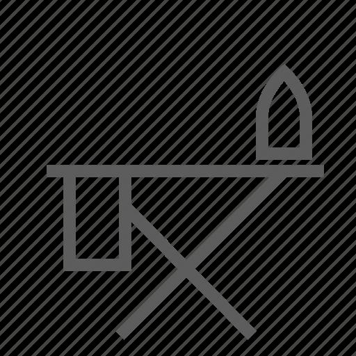 articles, board, flatiron, goods, household, iron, ironing icon
