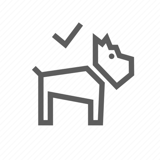 allowed, area, dog, dogs, friendly, pets, place icon