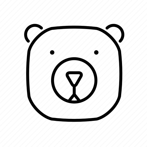 adventure, animals, bear, camping, hiking, outdoor, recreation icon