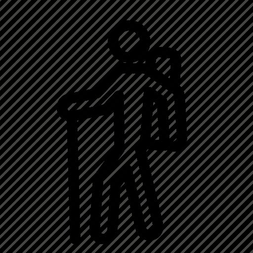 thicklinecampingicons icon