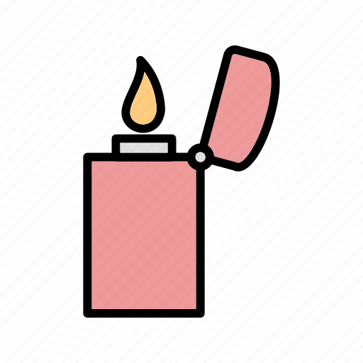 Fire, flame, lighter icon - Download on Iconfinder