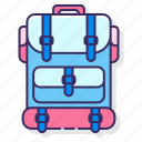 backpack, camping, travel