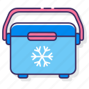 cooler, freezer, thermos icon
