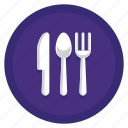 camping, cutleries, food, kitchen icon