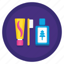 camping, grooming, hygiene, toiletries icon