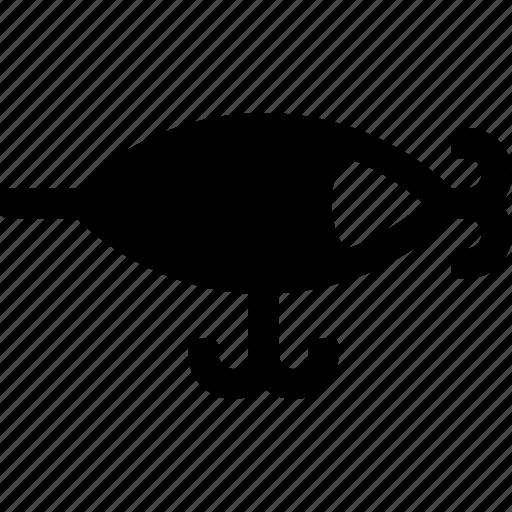 bait, fish, fishery, hook, lake, ocean, water icon