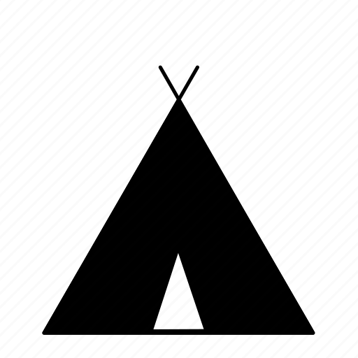 camp, camping, campingicons, outdoors, teepee, tent, tepee icon