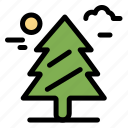 canada, forest, tree, weald icon