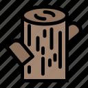 log, timber, wood icon