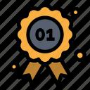 award, badge, canada, quality icon