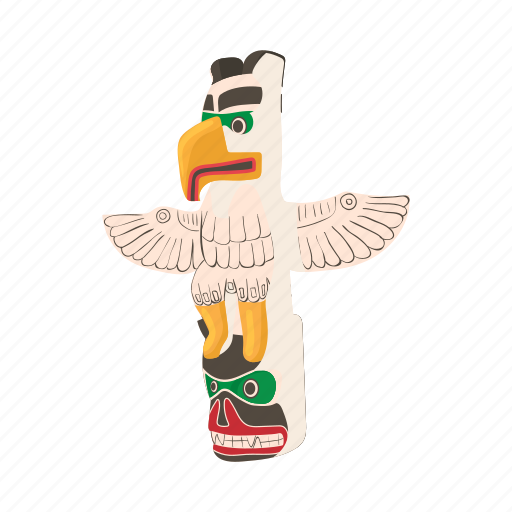 animal, bird, cartoon, design, ethnic, totem, tribal icon