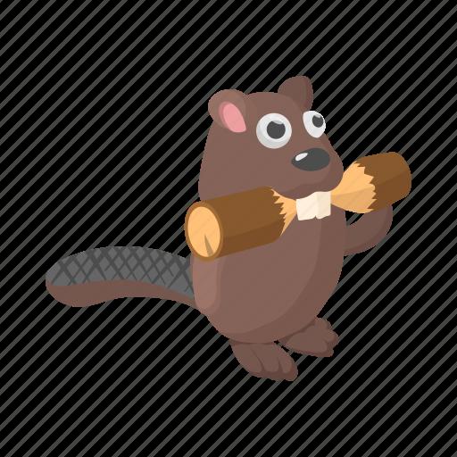 animal, beaver, canada, canadian, cartoon, fur, wildlife icon