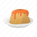 breakfast, cartoon, dessert, food, pancake, sweet, syrup icon