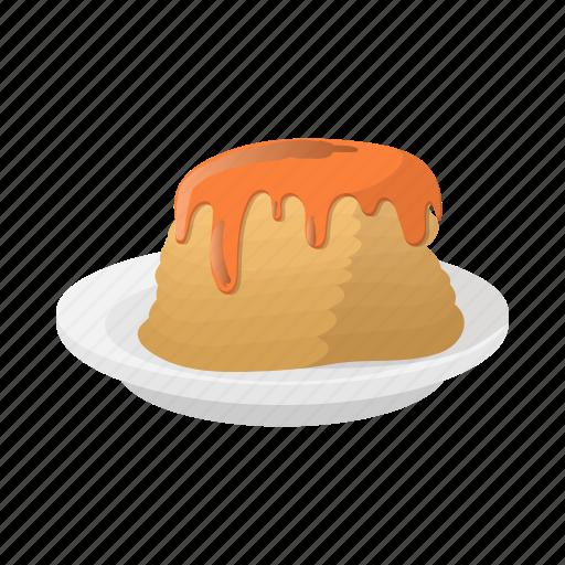 Breakfast, cartoon, dessert, food, pancake, sweet, syrup icon - Download on Iconfinder