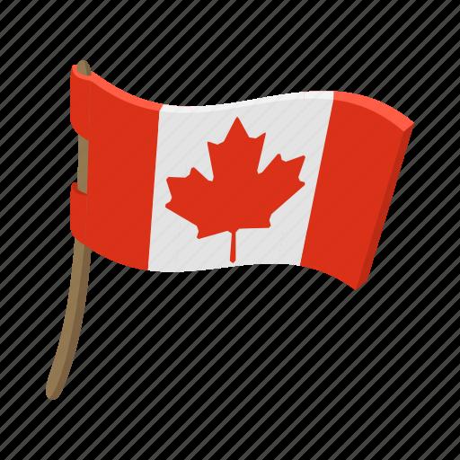 canada, canadian, cartoon, flag, leaf, maple, national icon