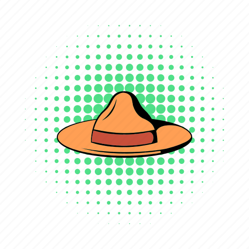 brown, canada, comics, farmer, hat, traditional, vintage icon