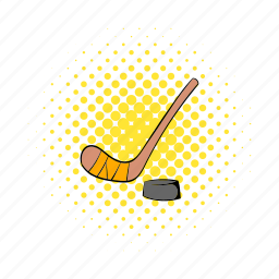 canada, comics, game, hockey, ice, puck, sport icon