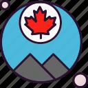 canada, flag, leaf